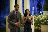 "<p>The <em>Bachelor</em> and <em>Bachelorette</em> limo entrances truly get more deranged by the season, and yep: they're pre-planned by producers based around the contestants' hobbies.</p><p>""They get to L.A., we start talking to them about their hobbies,"" <a href=""https://www.cosmopolitan.com/entertainment/a25167106/chris-harrison-net-worth/"" rel=""nofollow noopener"" target=""_blank"" data-ylk=""slk:Chris Harrison"" class=""link rapid-noclick-resp"">Chris Harrison</a> told <em><a href=""https://www.etonline.com/chris-harrison-spills-bts-bachelor-secrets-hidden-cameras-limo-exits-and-fantasy-suites-exclusive"" rel=""nofollow noopener"" target=""_blank"" data-ylk=""slk:Entertainment Tonight"" class=""link rapid-noclick-resp"">Entertainment Tonight</a>.</em> ""Do you ride horses? Do you fly planes? Is there something funny that you would like to talk about? Because you can't just have 30 people getting out going, 'Hi, my name's Lauren.' We do try to mix it up."" </p>"