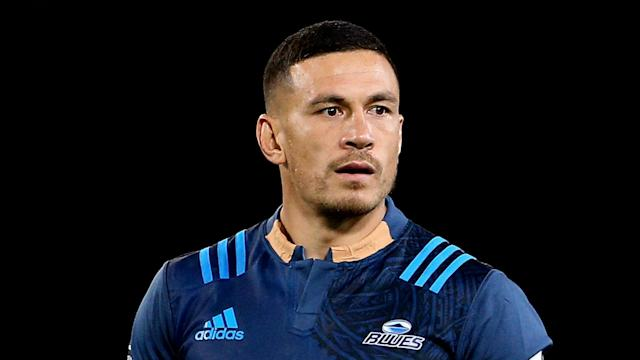 New Zealand Rugby have granted Sonny Bill Williams permission to cover some sponsors on his Blues Super Rugby shirt.