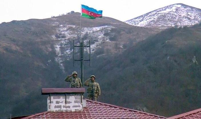 Under the peace accord Azerbaijan reclaimed swathes of territories that for three decades were held by Armenian separatists