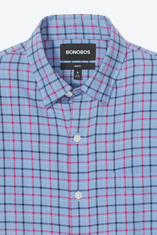 Bonobos Brushed Button-Down Shirt ('Multiple' Murder Victims Found in Calif. Home / 'Multiple' Murder Victims Found in Calif. Home)