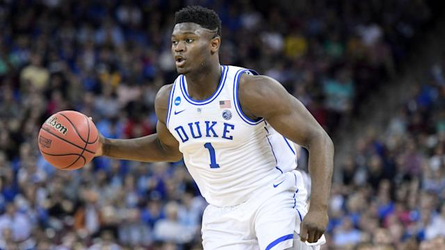 Zion Williamson is expected to be the top pick in the NBA draft. (AP)