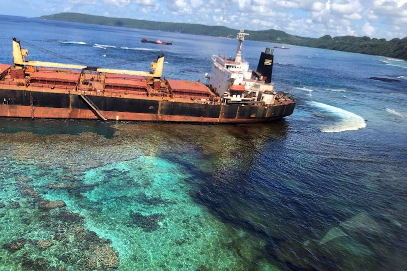 The ship was carrying more than 700 tonnes of heavy fuel and leaked a huge amount of oil into the sea