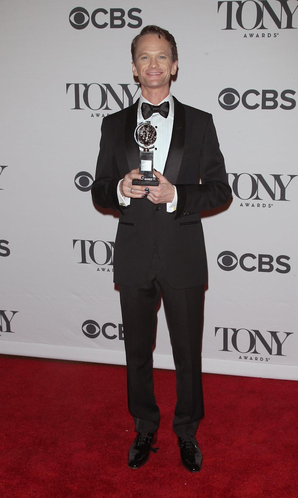 <ul> <li><strong>Has:</strong> Four Emmys for hosting the Tony Awards and guest-starring on <strong>Glee</strong> and a Tony for <strong>Hedwig and the Angry Inch</strong></li> <li><strong>Needs:</strong> A Grammy and an Oscar</li> </ul>