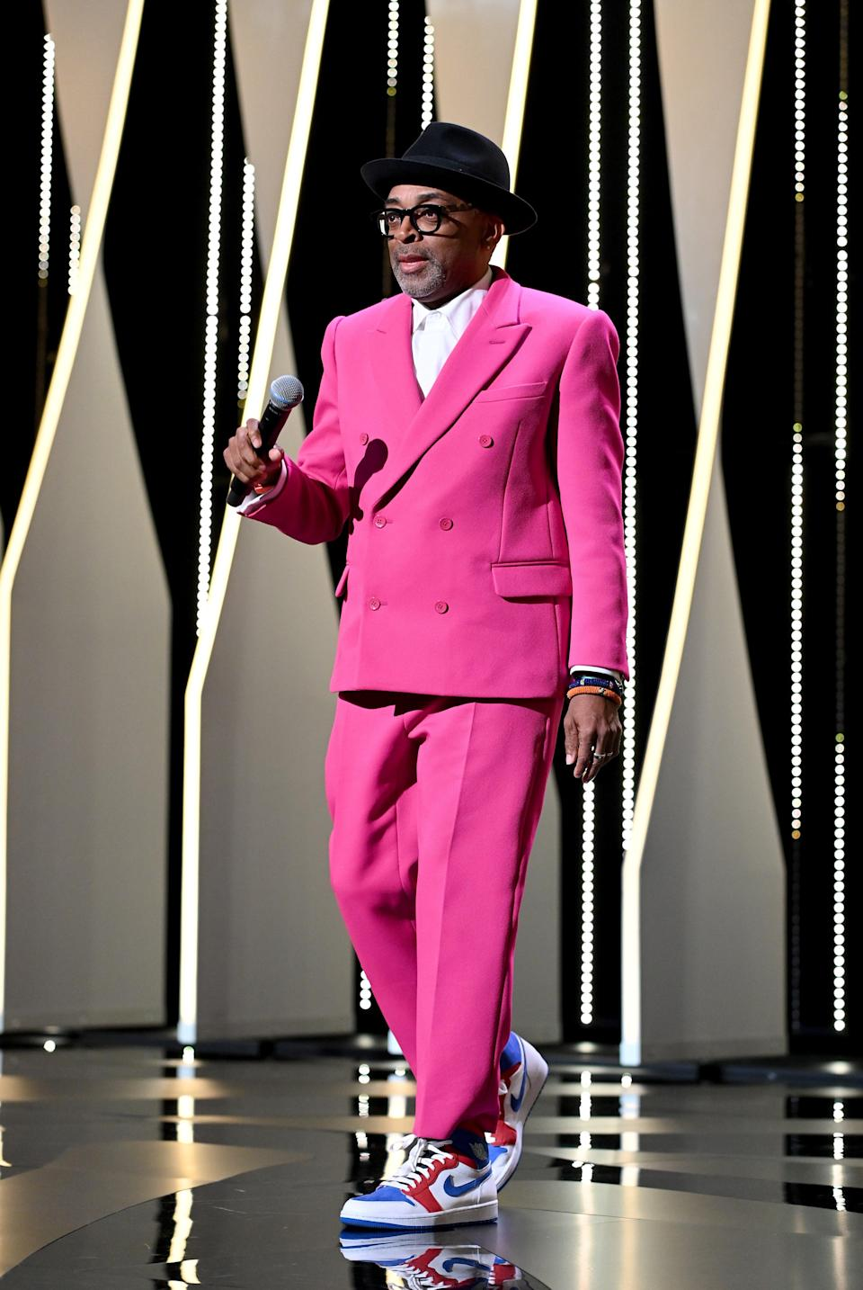 Spike Lee in Louis Vuitton (Getty Images)