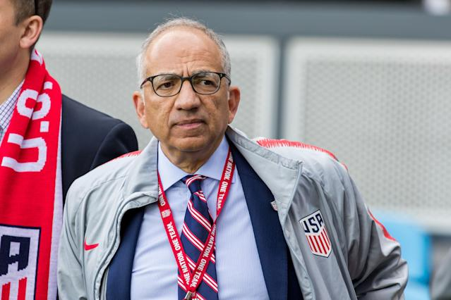 President Carlos Cordeiro and U.S. Soccer have issued a formal response to the USWNT's discrimination lawsuit, and it's interesting on several levels. (Getty)