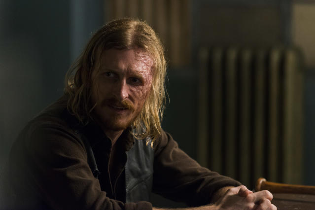 <p>Austin Amelio as Dwight in AMC's <i>The Walking Dead.><br> (Photo: Gene Page/AMC)</i> </p>