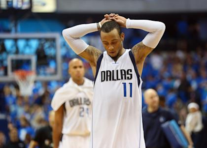 Monta Ellis was sensational on Friday, but came up empty on the final play. (Ronald Martinez/Getty Images)