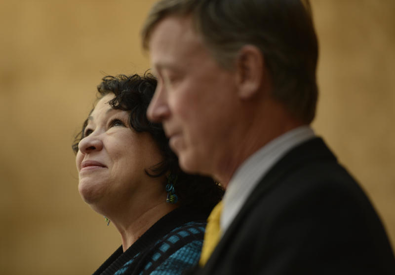 Sotomayor speaks at NYC literature festival