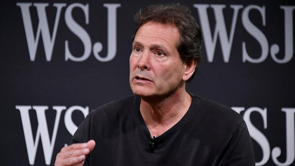 NEW YORK, NY - MAY 09:  President of PayPal Dan Schulman takes part in a panel during WSJ's The Future of Everything Festival at Spring Studios on May 9, 2018 in New York City.