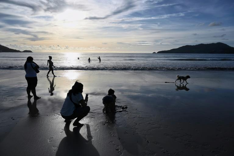 Patong Beach in Phuket has been usually quiet over the past year
