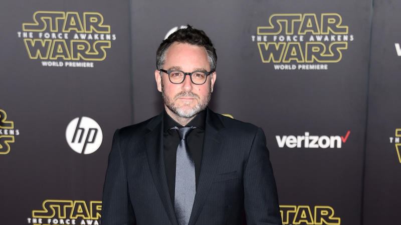 "Colin Trevorrow attends the premiere of ""Star Wars: The Force Awakens"" on December 14, 2015. (Photo by Ethan Miller/Getty Images)"