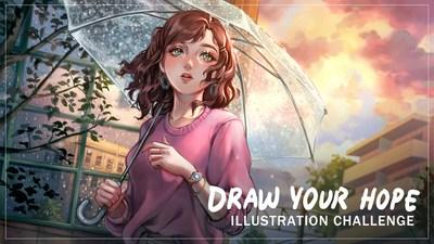Adorama's #CreateNoMatterWhat Illustration Challenge asks entrants to draw and submit a scene that encapsulates hope, and what that means to them.