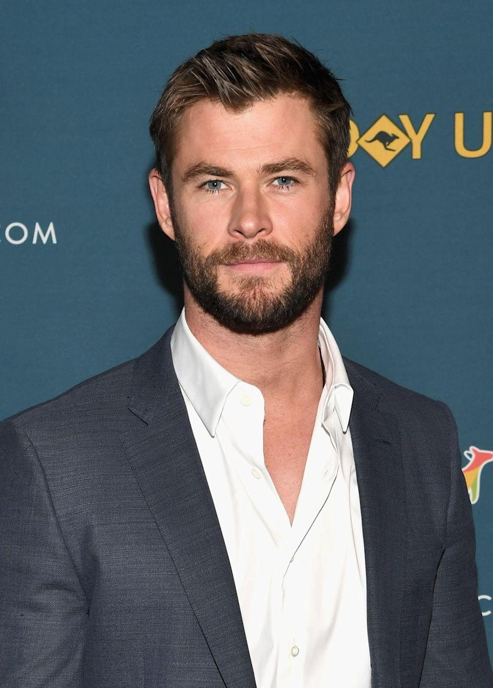<p><del>Thor</del> Hemsworth has made a perfectly groomed beard part of his signature look, for good reason.</p>