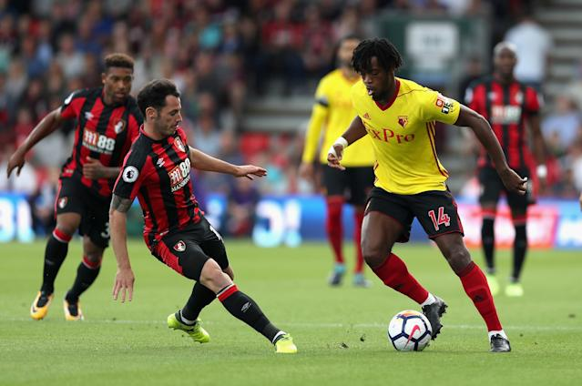 Nathaniel Chalobah shone for Watford after his move