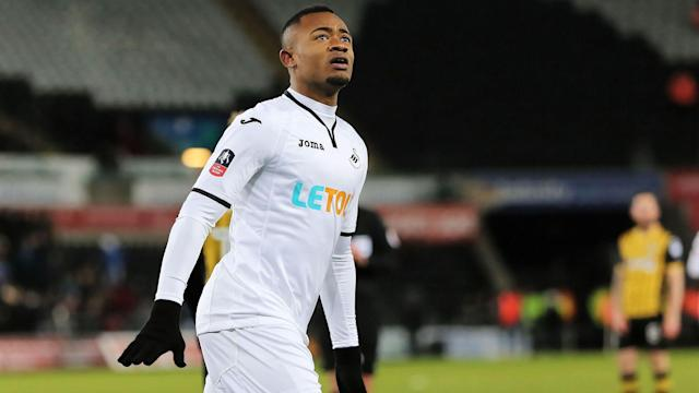 A profile of Swansea's Jordan Ayew with the forward gathering interest from the Premier League