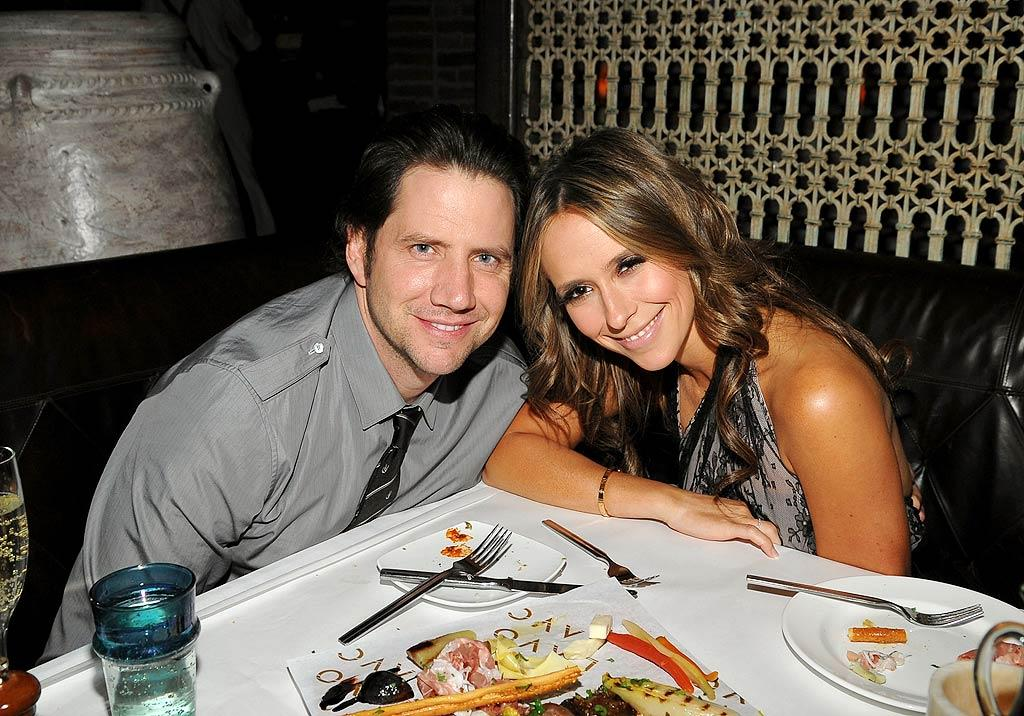 """Also in attendance ... Jamie Kennedy and his """"Ghost Whisperer"""" gal pal Jennifer Love Hewitt. Jamie McCarthy/<a href=""""http://www.wireimage.com"""" target=""""new"""">WireImage.com</a> - October 3, 2009"""