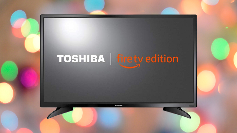 Make winter warm and cozy with this Fire TV Edition smart TV—available for a song, right now! ( (Photo: Amazon)