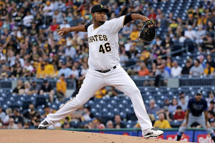 Pittsburgh Pirates righty Ivan Nova has been been great staying out of hitter's counts. (AP Photo/Gene J. Puskar)