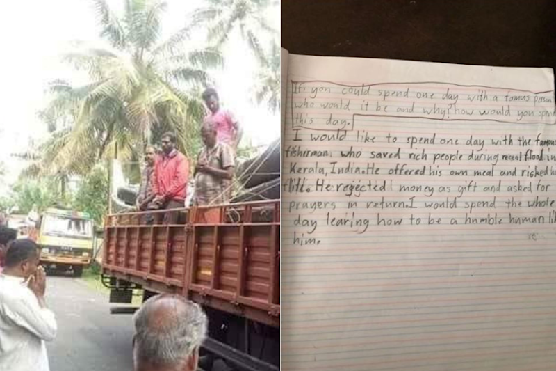 9-Year-Old Australian Was Asked Which Famous Person He'd Meet. His Response: Kerala Fisherman
