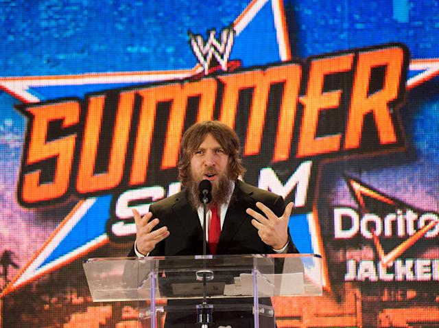 "Daniel Bryan is the latest WWE superstar to be replaced for the controversial ""Crown Jewel"" Saudi Arabia card following the death of Washington Post journalist Jamal Khashoggi. (Getty Images)"