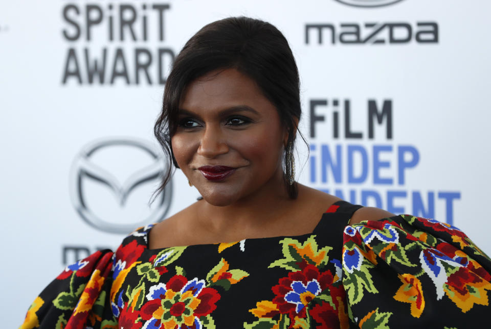 Mindy Kaling clarified engagement rumors after she was photographed wearing a ring. (Photo: REUTERS/Lucas Jackson)