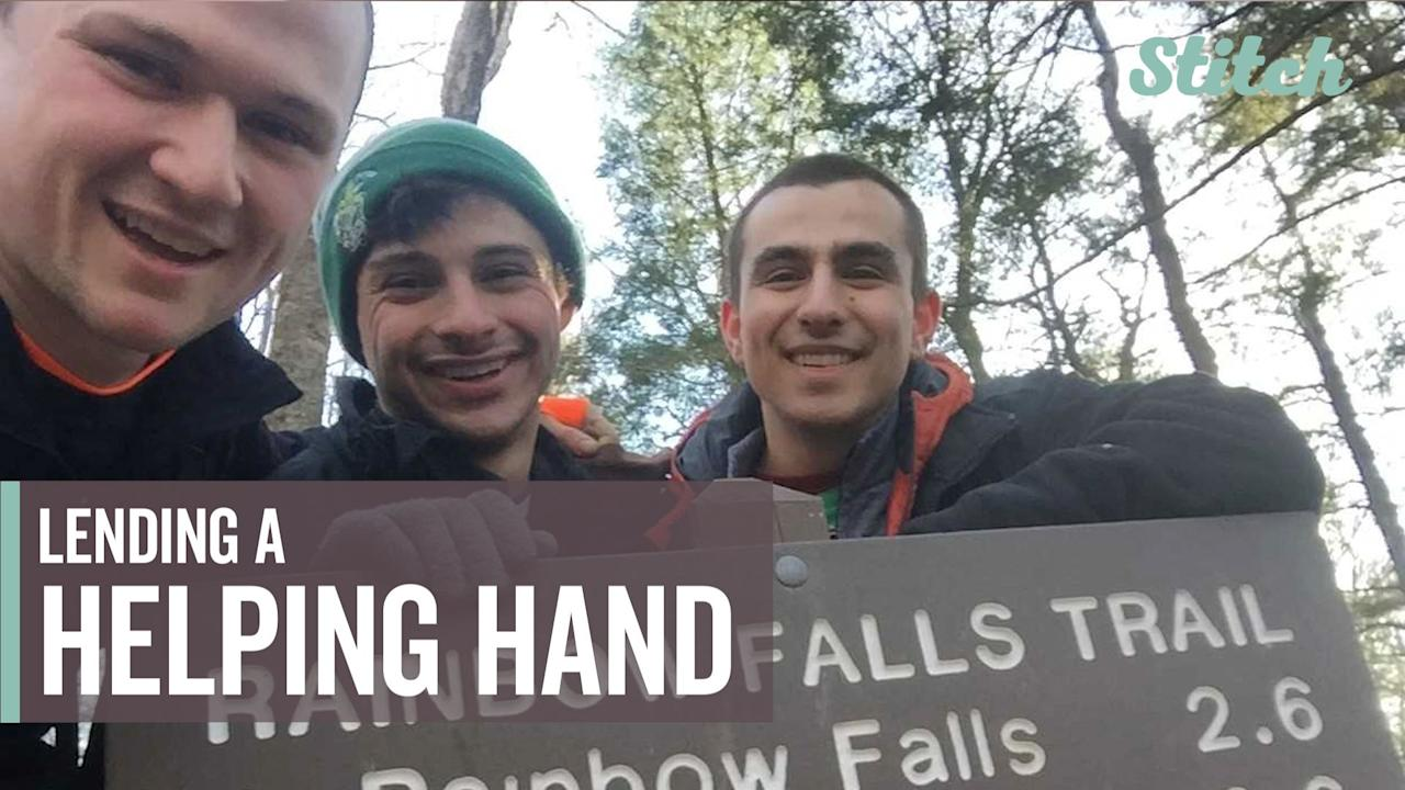 Matthew Messina, Justin Prom and Ryan Serfas set out on spring break trip to the Smoky Mountains in search of something beautiful. But it was their kindness during the trip that really left people talking.