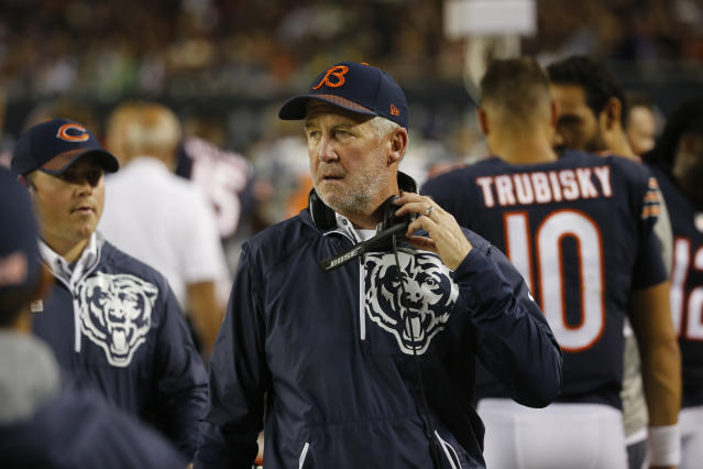 "The <a class=""link rapid-noclick-resp"" href=""/nfl/teams/chi/"" data-ylk=""slk:Chicago Bears"">Chicago Bears</a> reportedly plan to fire John Fox following Sunday's season finale against the <a class=""link rapid-noclick-resp"" href=""/nfl/teams/min/"" data-ylk=""slk:Minnesota Vikings"">Minnesota Vikings</a>. (AP)"