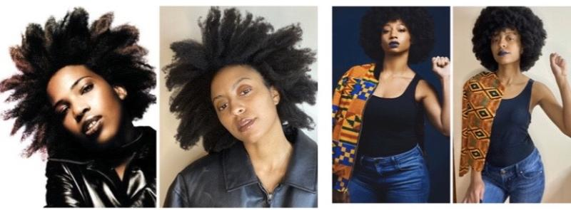 Ziajah Nellom posts a different side-by-side hair photo for every day of Black History Month, and the results are legendary. (Photo: Ziajah Nellom)
