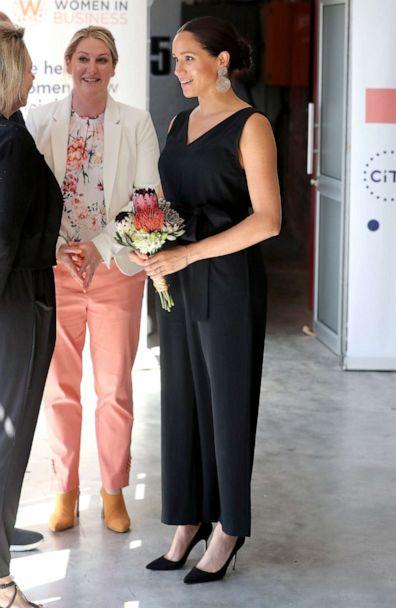 PHOTO: Meghan, Duchess of Sussex, visits Woodstock Exchange, a women founders/social entrepreneurs event, in Cape Town, South Africa, Sept. 25, 2019. (Pool/Chris Jackson/Pool via Reuters)