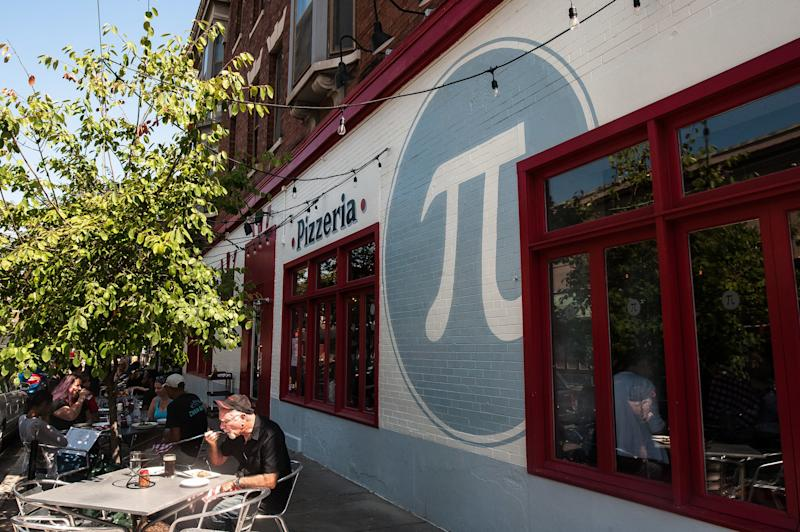Pi Pizzeria's location in the Central West End of St. Louis. (Joseph Rushmore for HuffPost)