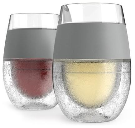 Set of 2 Wine Freeze Cooling Cups