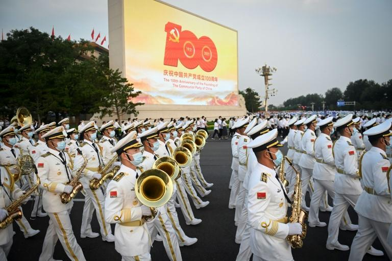 Organisers were leaving nothing to chance to disrupt a triumphant show of success for the ruling Chinese Communist Party