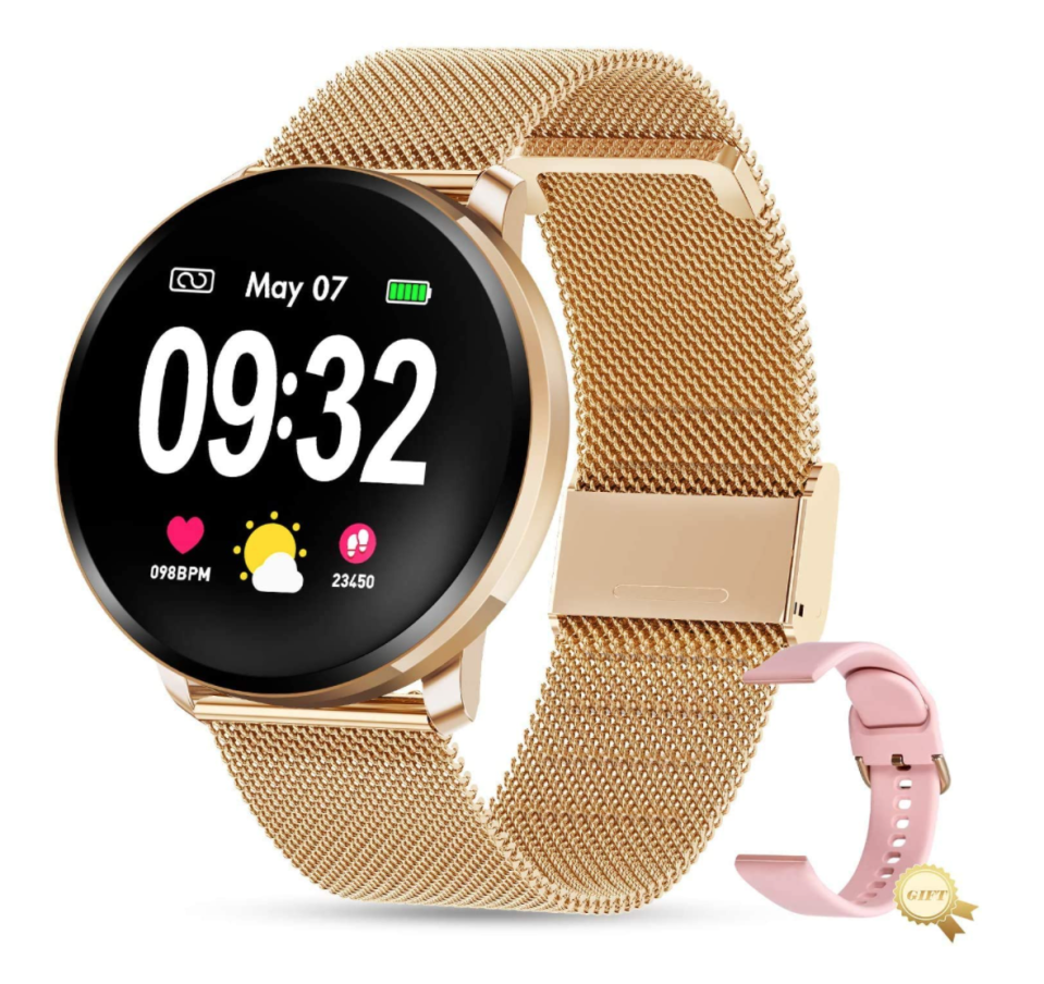 GOKOO Fitness Tracker Smart Watch (Photo via Amazon)