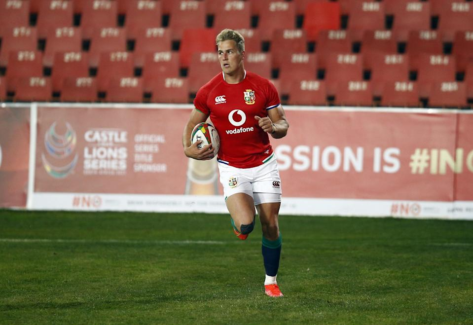 Van der Merwe scored a hat-trick of tries for the Lions against the Sharks (PA Wire)