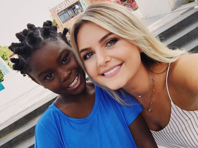 Megan McGarity and 8-year-old Jaleah. (Photo: Courtesy Megan McGarity)