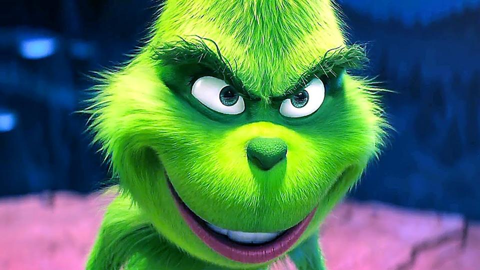 Benedict Cumberbatch voiced the green grouch in this reimagining of the story. It's by far the biggest box office hit on the list. (Credit: Illumination)