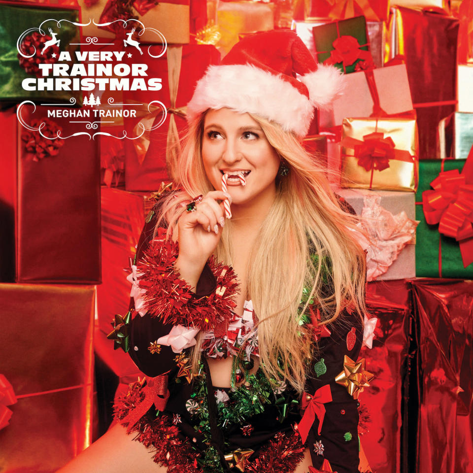 """This cover image released by Epic Records shows """"A Very Trainor Christmas"""" by Meghan Trainor. (Epic via AP)"""