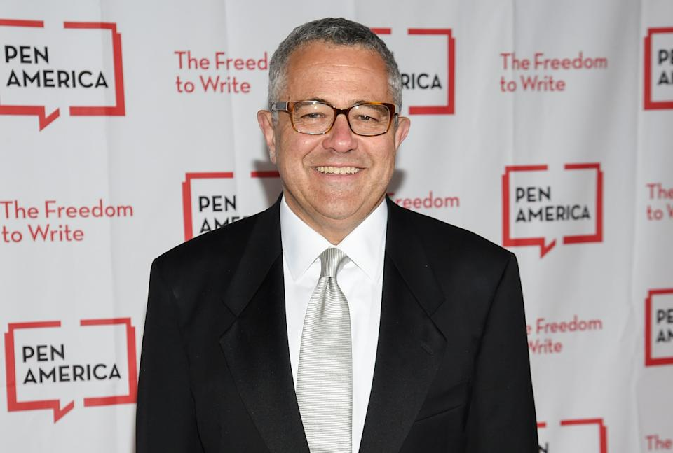 Lawyer and author Jeffrey Toobin is stepping away from CNN and has been suspended by the New Yorker. (Photo: Evan Agostini/Invision/AP)