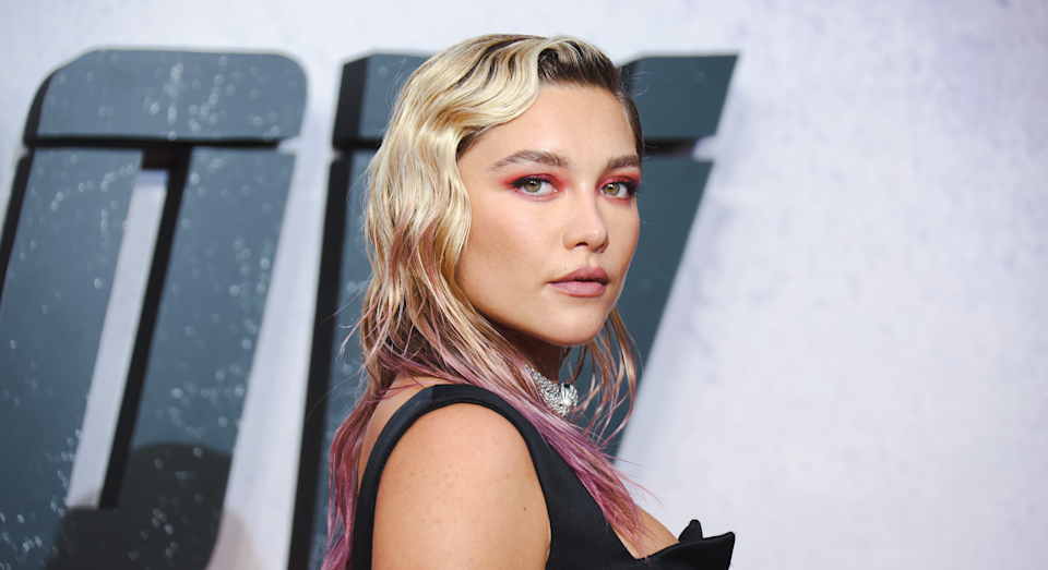 Florence Pugh has discussed feeling pressured to lose weight early on in her career. (Getty images)