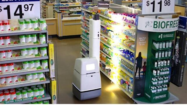Walmart is rolling out shelf scanning robots in stores, but says they won't replace people