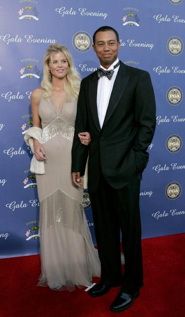 <p>Woods married Swedish model Elin Nordegren in 2004 during the peak of his career. </p>