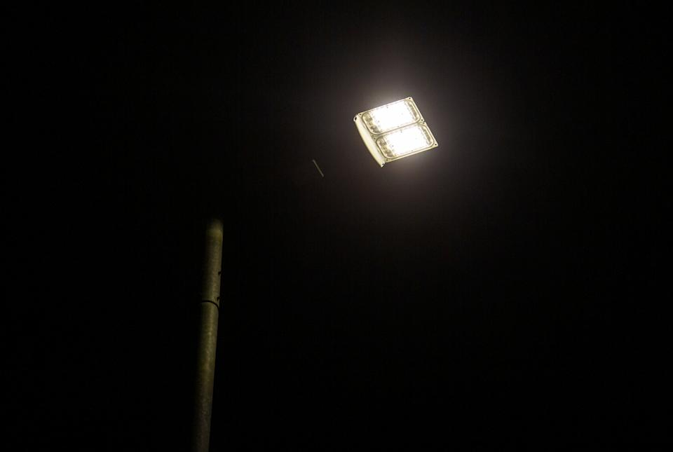 The local authority is upgrading the town's 28,000 street lights to LED lanterns, which it says will consume less energy and reduce light pollution. (SWNS)