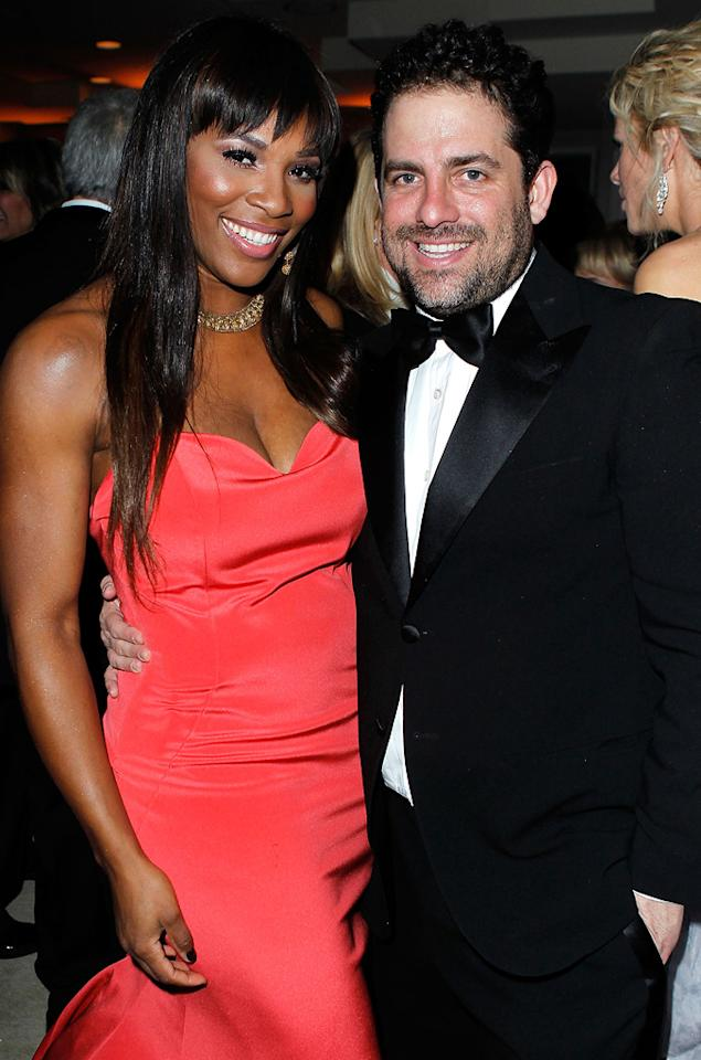 Former couple Serena Williams and Brett Ratner got reacquainted at the Vanity Fair party. Perhaps they even rekindled their romance.