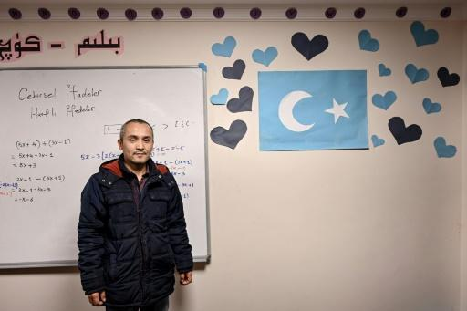 "Teacher Mahmut Utfi says he sees his job as a duty as the Uighurs are ""facing extinction"""