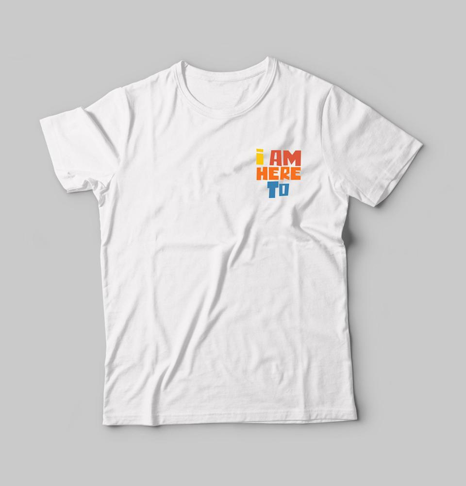 """<p>This <a href=""""http://iamhereto.com/collections/products/products/i-am-here-to-t-shirt-rainbow-logo"""" class=""""link rapid-noclick-resp"""" rel=""""nofollow noopener"""" target=""""_blank"""" data-ylk=""""slk:t-shirt"""">t-shirt</a> ($50) was screen printed at <a href=""""https://reinserta.org/"""" class=""""link rapid-noclick-resp"""" rel=""""nofollow noopener"""" target=""""_blank"""" data-ylk=""""slk:REINSERTA"""">REINSERTA</a> in Mexico City by young men and women who seek to positively change their lives and communities.</p>"""