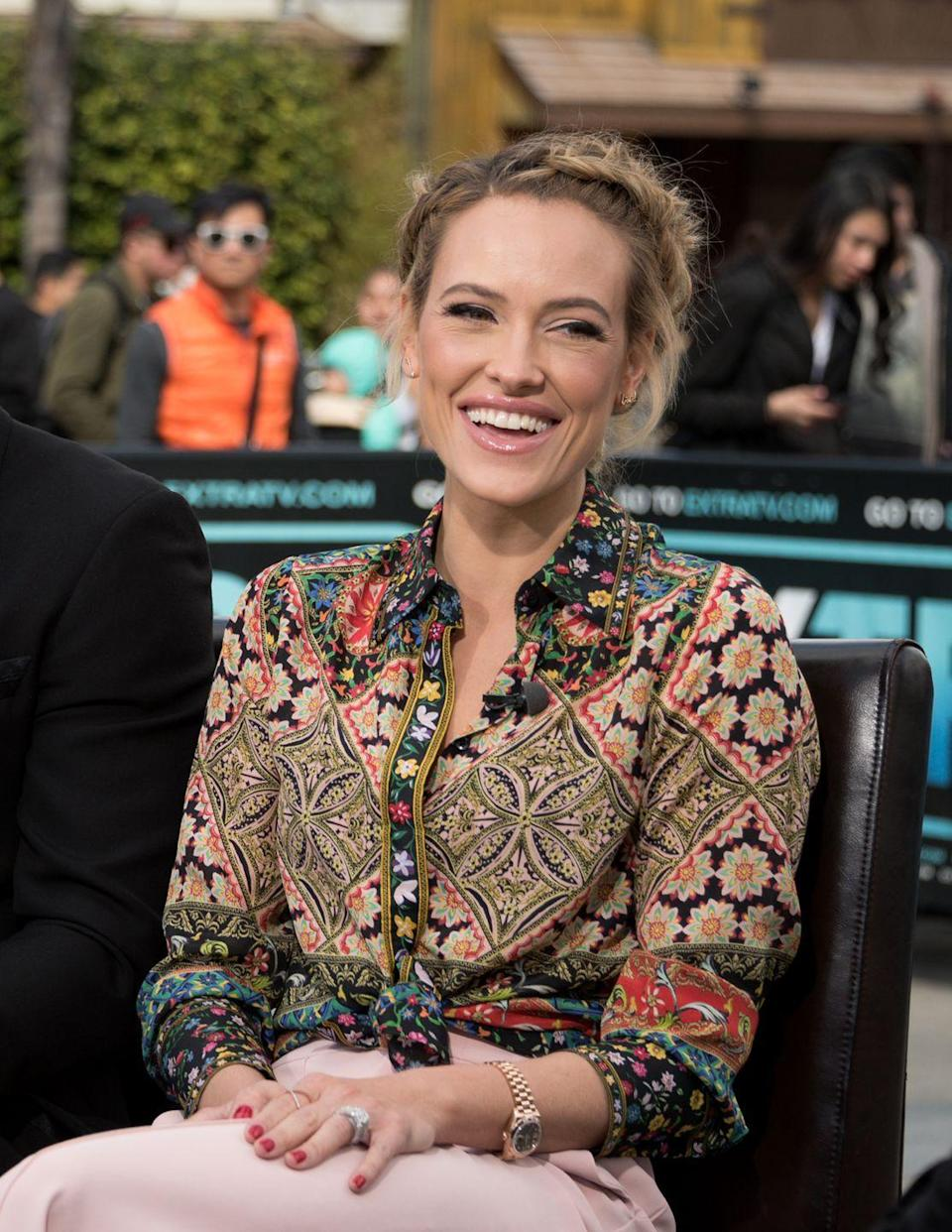 """<p>While pregnant with her first child, Peta didn't limit dessert to just the evenings. """"I really <a href=""""http://www.eonline.com/news/795386/ice-cream-for-breakfast-anything-goes-when-it-comes-to-peta-murgatroyd-s-pregnancy-cravings"""" rel=""""nofollow noopener"""" target=""""_blank"""" data-ylk=""""slk:crave cold ice cream"""" class=""""link rapid-noclick-resp"""">crave cold ice cream</a> for anytime of the day,"""" the <em>Dancing With the Stars</em> cast member told <a href=""""https://www.eonline.com/news/795386/ice-cream-for-breakfast-anything-goes-when-it-comes-to-peta-murgatroyd-s-pregnancy-cravings"""" rel=""""nofollow noopener"""" target=""""_blank"""" data-ylk=""""slk:E! News"""" class=""""link rapid-noclick-resp"""">E! News</a>. </p>"""