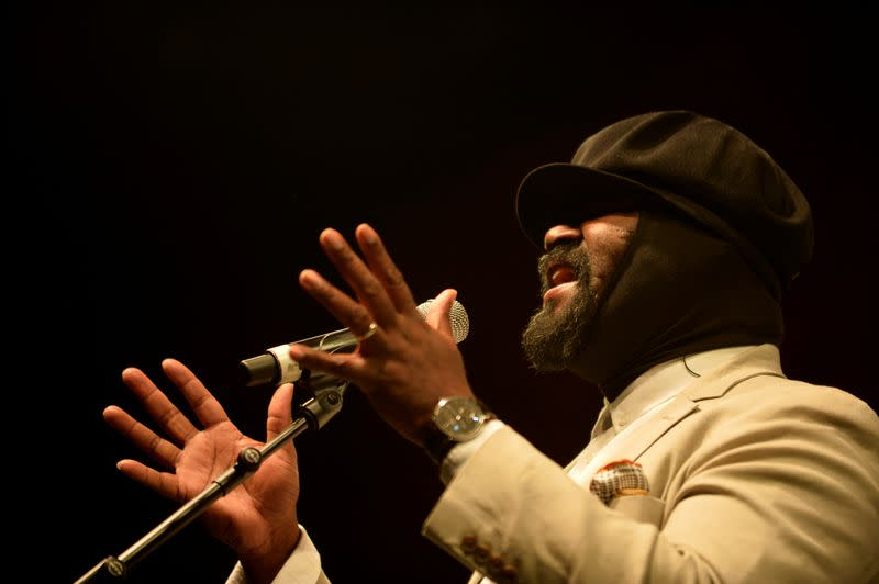 A space exploration fan, jazz artist Gregory Porter to sing for NASA launch