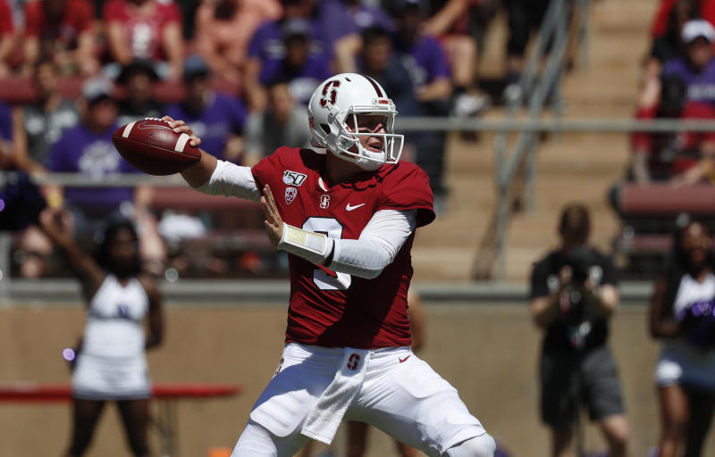 Stanford QB K J  Costello to miss game against USC