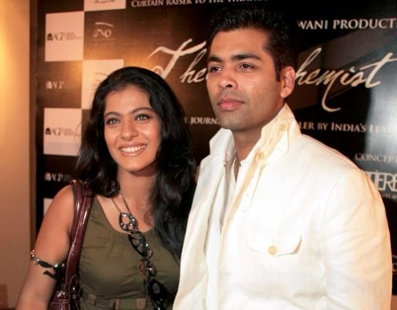 Kajol and Karan Johar