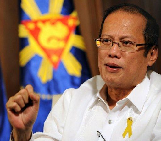 Benigno Aquino said the Philippines was looking to the United States for help in building up its defence capabilities